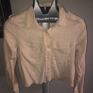 Lulu's Fringe Long Sleeve Shirt